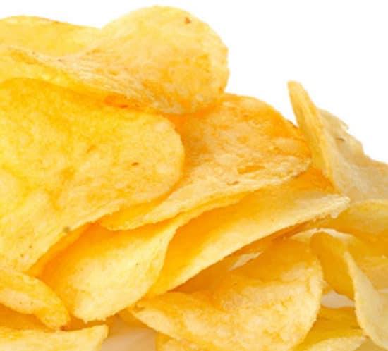 humedad y aceite en las patatas fritas