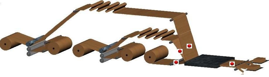 Sistemas de medición en línea en la fabricación de Cartón ondulado