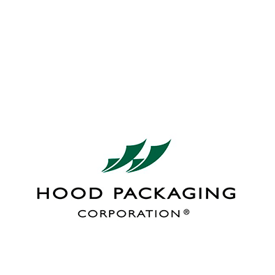 Logo de empresa hood packaging