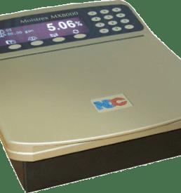 Moistrex medidor de humedad en laboratorio