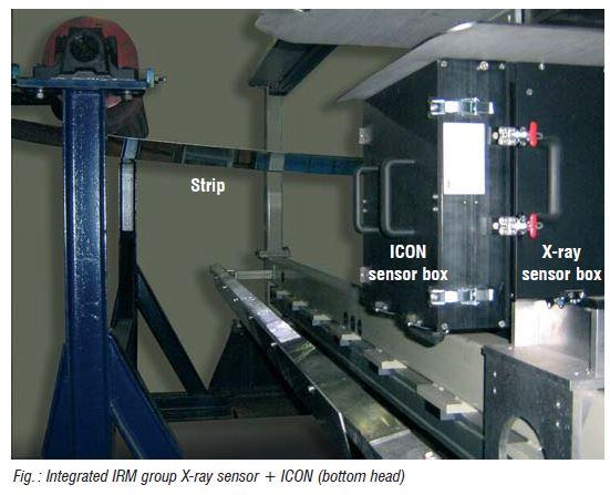 Sensor ICON % FE para estañado y galvanizado