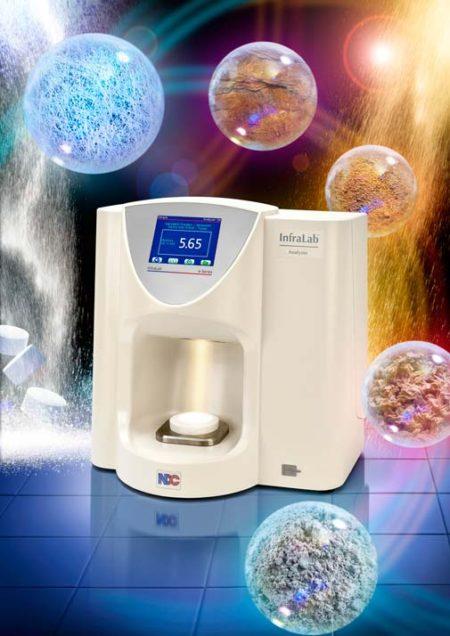 Analizador NDC infralab 710e para quimicos