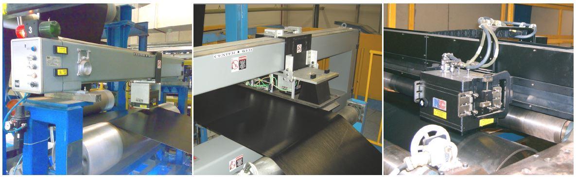 sensores de medida NDC en la industria del caucho calandrado